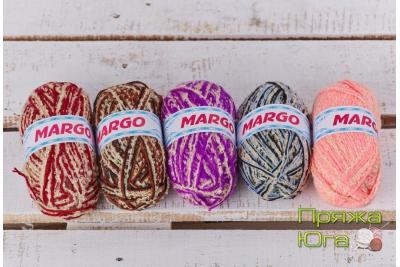 Пряжа Марго-букле в клубках по 100 граммов