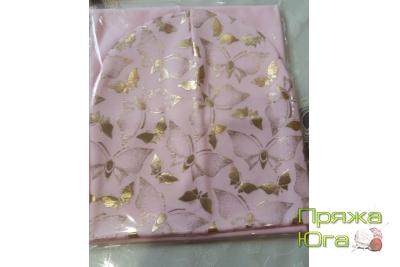 Шапка для девочки в комплекте с шарфом