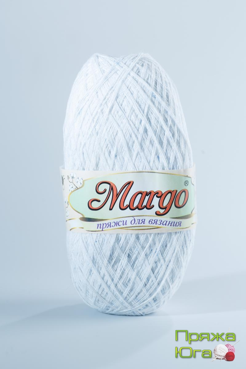 Пряжа Марго (Турция) хлопок цвет жемчуг