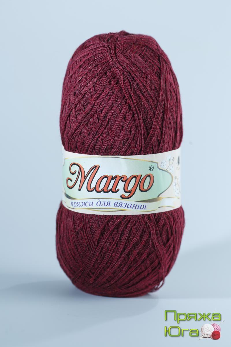 Пряжа Марго (Турция) хлопок цвет вишня