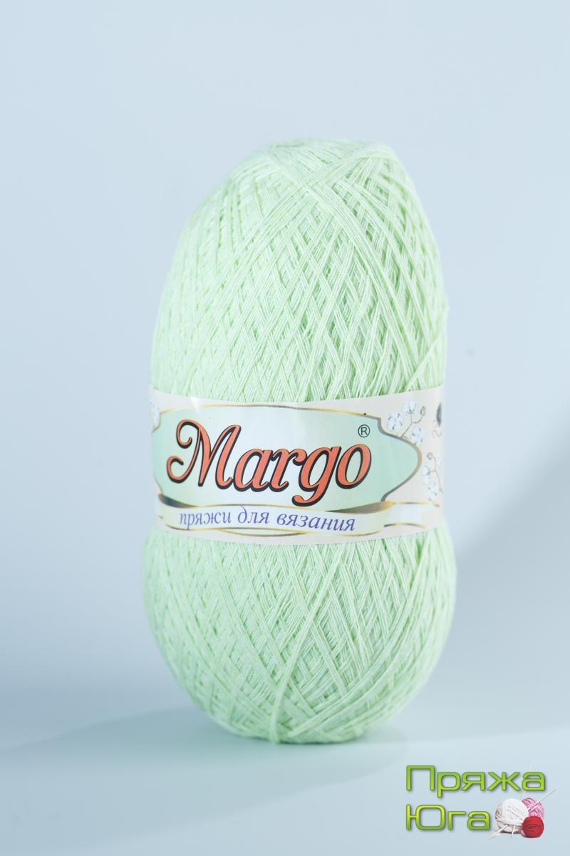 Пряжа Марго (Турция) хлопок цвет лайм