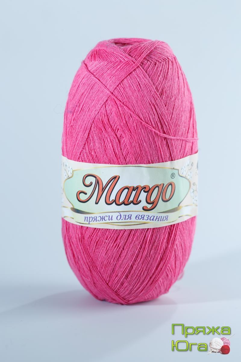 Пряжа Марго (Турция) хлопок цвет малина