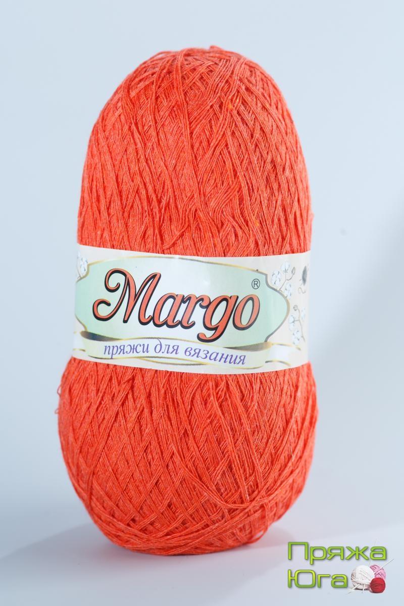 Пряжа Марго (Турция) хлопок цвет коралл