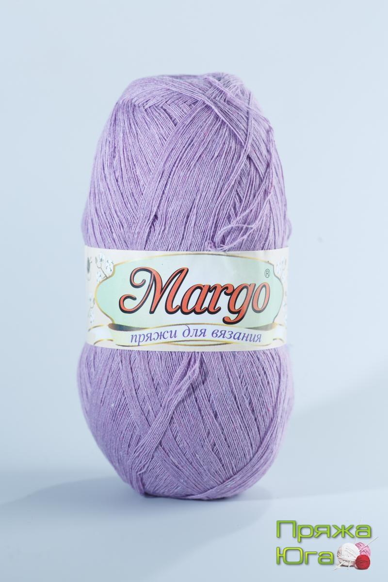 Пряжа Марго (Турция) хлопок цвет фиалка