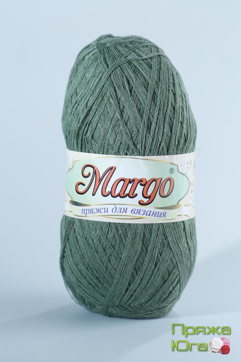 Пряжа Марго (Турция) хлопок цвет полынь