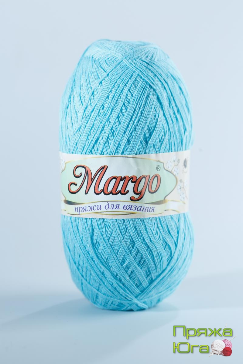 Пряжа Марго (Турция) хлопок цвет айсберг