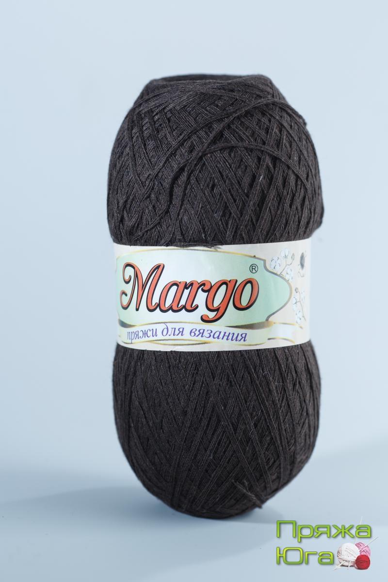 Пряжа Марго (Турция) хлопок цвет шоколад