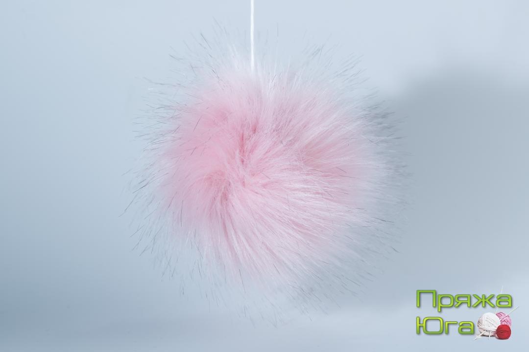 Помпон № 11 цвет светло-розовый