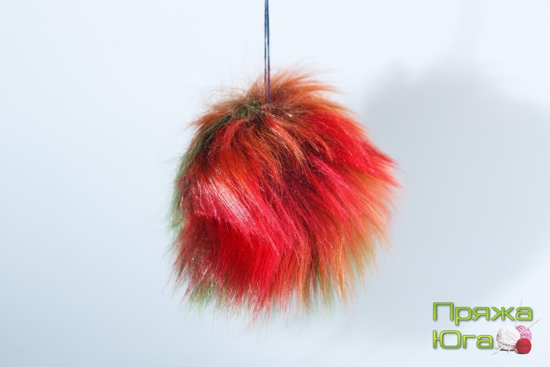 Помпон № 12 цвет попугайчик
