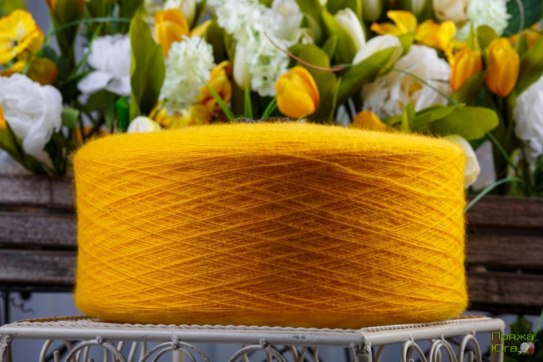 Кавкаская пряжа для машинного вязания в бобинах