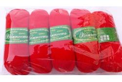 Пряжа Нежность с козьим пухом цветная в клубках 100 граммов