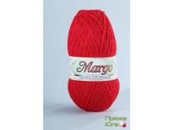 Пряжа Марго (Турция) хлопок цвет красный