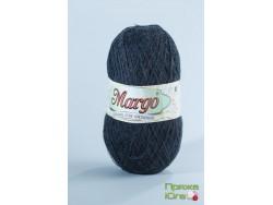 Пряжа Марго (Турция) хлопок цвет черный