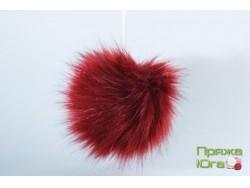 Помпон № 9 цвет красный