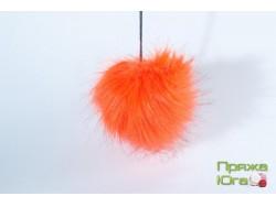 Помпон № 20 цвет оранжевый