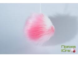 Помпон № 24 цвет попугайчик розовый