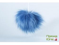 Помпон № 26 цвет тёмно-голубой