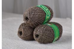 Пряжа Марго шерстяная (носочная) в клубках 100 граммов, в 2 нити