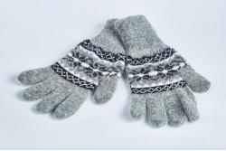 Перчатки женские шерстяные