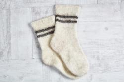 Носки шерстяные с козьим пухом толстые