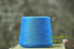 Пряжа Пинская (Белоруссия) цвет синий дождь