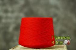 Пряжа Пинская (Белоруссия) цвет красный мак