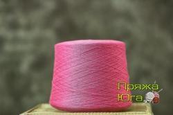 Пряжа Пинская (Белоруссия) цвет розовый цикломен