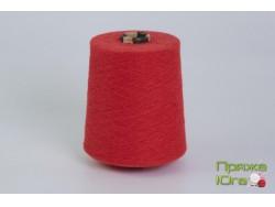 Турецкая пряжа хб 12-1 цвет mars red-30