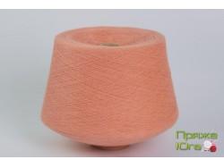 Турецкая пряжа хб 12-1 цвет персик