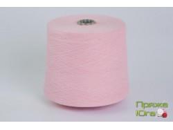 Турецкая пряжа хб 12-1 цвет розовый 20-1
