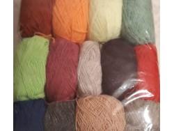 Пряжа Марго (Турция) хлопок набор для вязания детский учебный